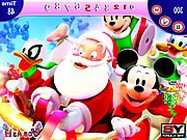 Mickey and Santa Christmas online keres�s j�t�k